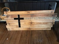 Inlayed wooden cross  Raleigh, 27609