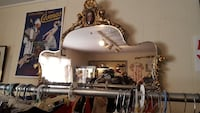 Antique French provincial mirror