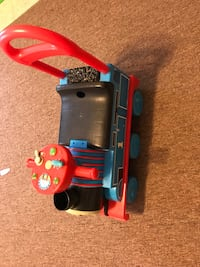 Thomas the train ride on toy/walker