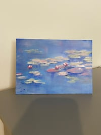 Oil painting on canvas board