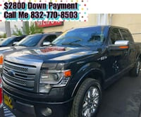 Ford- F-150- platinum- 2012 $2800 Down Payment Houston