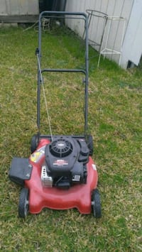 red and black push mower Carrollton