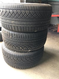 Two black rubber car tires Frederick, 21702