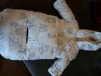 Infant snow suit