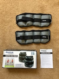 Reebok Toning Adjustable Ankle Weights. Chicago, 60606