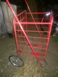 Red lightweight cart Puyallup, 98371