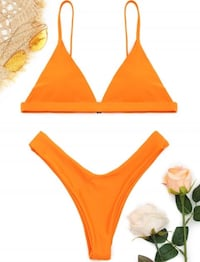 Zaful Fluorescent Orange Bikini Toronto, M6G