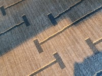 gray and blue area rug Tysons, 22102