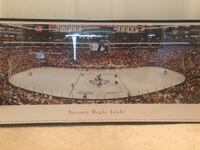 Toronto Maple Leafs Framed Poster Toronto, M3H 6A6