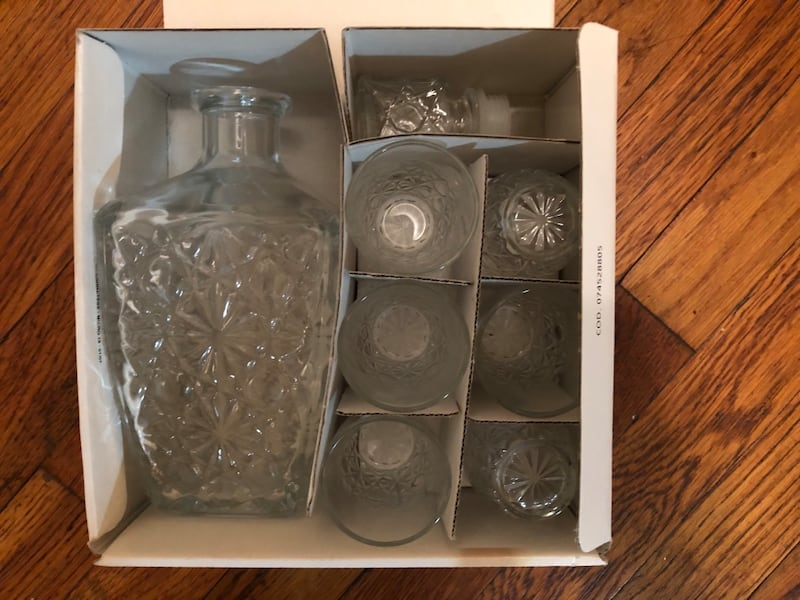 Set of Crystal Drinkware - Never Used 9ef0ab7f-43a4-4af2-8528-73dc6a14c842