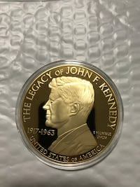 Kennedy and the Civil Rights Movement Colossal Commemorative Coin Sioux Falls, 57108