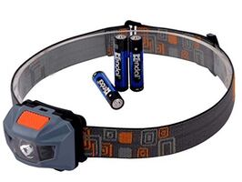 3 Colour Mode High Power LED Light Headlamp with 4 Smart Mode Switch