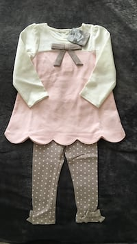 Brand New Cute girl's outfit 12-18m!