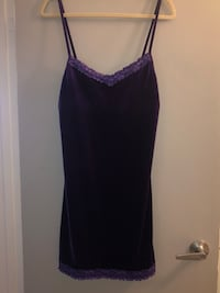Priced to sell! new Gorgeous purple velvet large nightie by Jessica. Edmonton, T5H