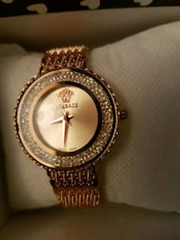 Versace  gold watch with diamond  Richmond, V6Y 2Y5