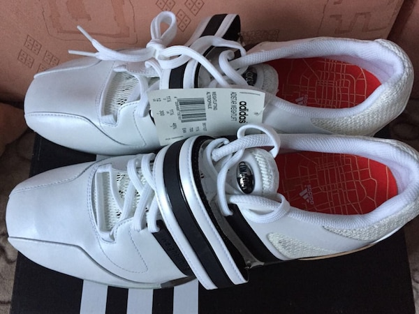 Used Adidas Adistar 2008 Olympic weightlifting shoes for sale in ... d137cc5ece55