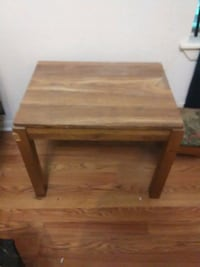 Small wooden table  Corpus Christi