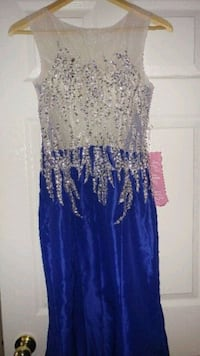 Blue long dress Vaughan, L4L 1P6