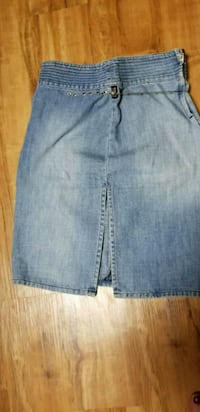 Denim Gianni Versace skirt with chain fit 36 or38 Garfield, 07026