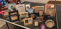 Variety of 21 Picture Frames Purcellville, 20132