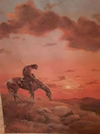 man riding on horse painting Rossville, 30741