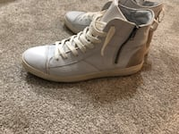 TopMan Leather Hightop Sneakers  Burnaby, V5C