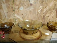 two clear glass candle holders Panama City, 32405