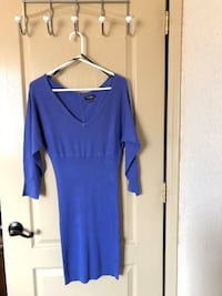 Used guess sweater dress (L)