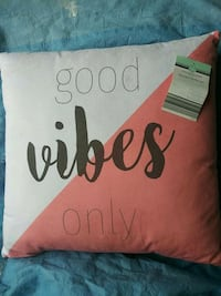 Throw pillow new Waldorf