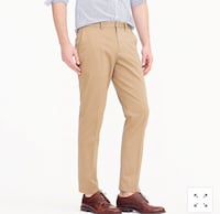 Jcrew slim fit chinos - brand new with tags - size 33/32 Toronto, M4E 3P8