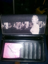 leather Marilyn Monroe wallet London, N5Y 0B1