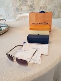LV Louis Vuitton sunglasses with serial number