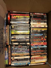 Box of DVDs  Richmond Hill, L4E 4C9