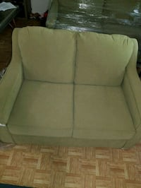 green fabric 2-seat sofa set Manassas