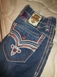 blue Rock Revival denim bottoms 3133 km