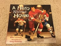 BN A hero named Howe paperback Port Coquitlam
