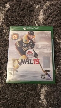 Nhl 15 xbox one game brand new in package Nanaimo, V9T 5J7