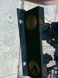 black and brown subwoofer enclosure Sunnyvale