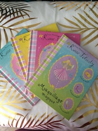Lot 4 livres rose felicity  Paris, 75011
