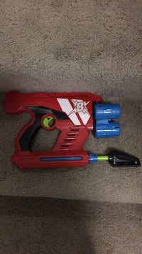 red and blue Nerf gun Ashburn
