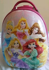 Disney Princess Heys Carry on Luggage  - $10 Toronto, M9B 6C4