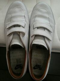Nike SJ All White leather Miramichi