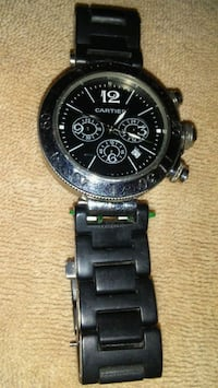 Cartier Pasha Chronograph Stainless Steel Vancouver, V5Y