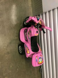 pink and black ride on toy car Washington, 20019