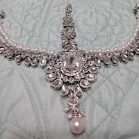 Silver Bridal Handmade Headpiece Jewelry, new Alexandria, 22304
