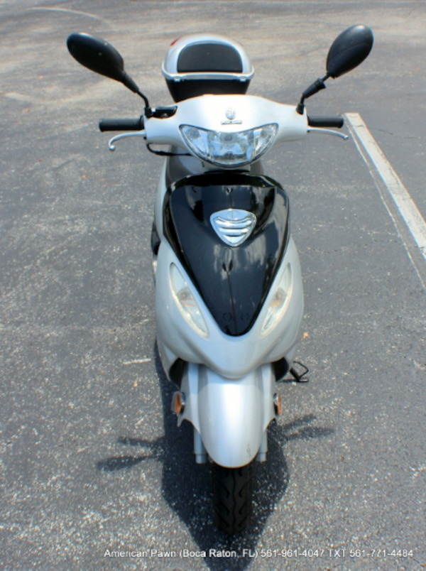 2017 Peace Sports Moped 50cc Motor Scooter Silver