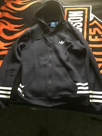 Adidas Full Zip Hoodie Germantown