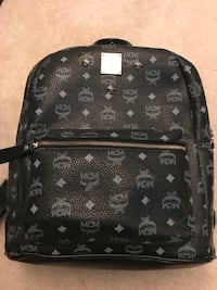 Black MCM Backpack Woodbridge, 22192