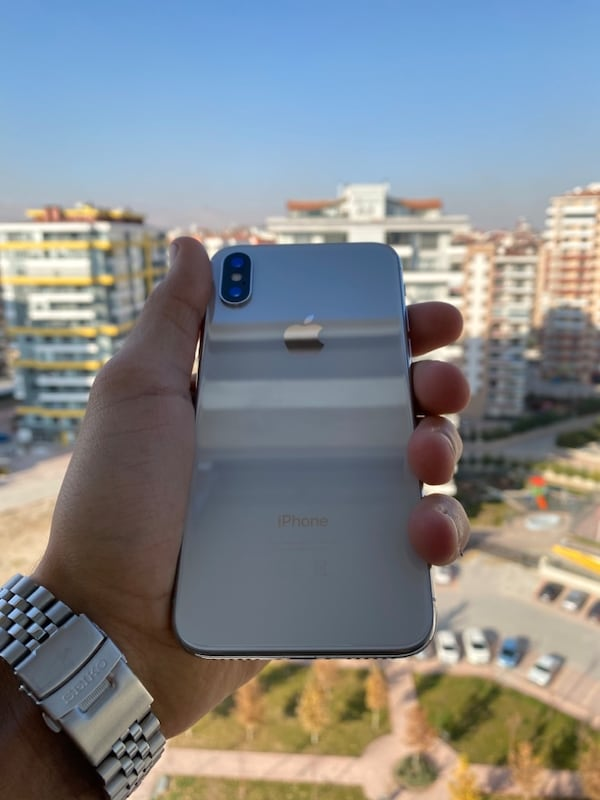 İPHONE X 64GB - SİLVER TR 7871125f-0ad3-4587-a4b9-d964c836cfd6