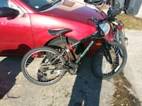 black and red full suspension mountain bike New Castle, 19720